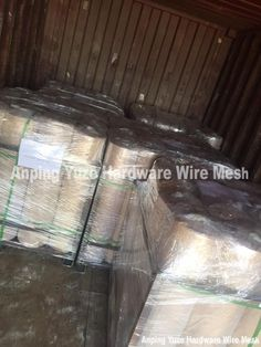 one container Fe wire cloth finished