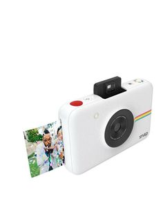 The Polaroid Snap can print full color photos immediately, without ink