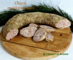 cisca de casa moldoveneasca Romania Food, Charcuterie, Smoked Bacon, Smoking Meat, Saveur, Diy Food, Slow Cooker, Sausage, Food And Drink