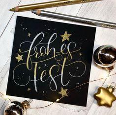 Brush Lettering, Lettering Design, Hand Lettering, Christmas Time, Christmas Cards, Christmas Decorations, Xmas, Porcelain Pens, Chalkboard Lettering