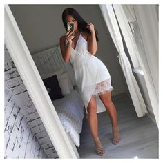days @misspap Lace Dress Use my code for money off! RUBY10 #ootd #lacedress #misspapped #whitedress #girlyoutfit