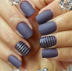 Matted nails