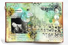 Journey 02 - altered book journal | Flickr - Photo Sharing!