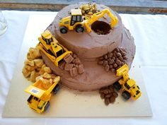 construction cake - Google Search