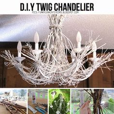 DIY Twing Chandelier
