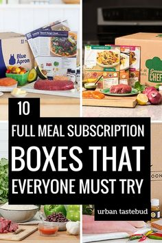 23 Best Full Meal Subscription Bo You Need This Week