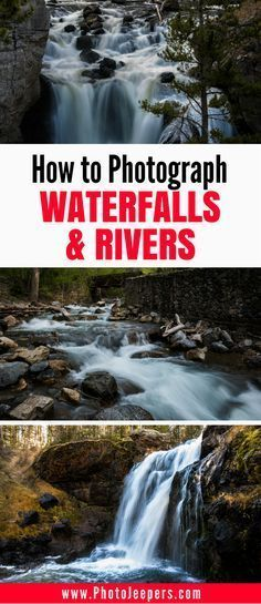 Do you wonder how to photograph waterfalls & rivers? This photography guide includes camera settings, camera angles, camera gear, and much more so you can capture amazing images of waterfalls and rivers. Don't forget to save it to your photography board!