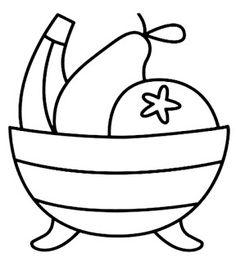 Riscos graciosos (Cute Drawings): Frutas, legumes, alimento e bules/chaleiras (F…