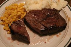 Great way to deal with steak, with next to no mess. And it wasn't dried out, even though I cooked it to well done!
