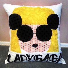 Lady Gaga Paparazzi Fan Art Pillow by PillowMeCrazyDesigns on Etsy