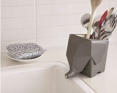 Jumbo The Elephant Cutlery Drainer - Peleg Design | designboom