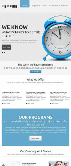 Free Music Website Template – Rock Your Web Project! | Music website ...