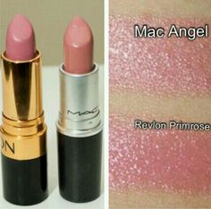"""MAC """"Angel"""" is a personal favorite. Now, get the look for much less! Get our app: https://itunes.apple.com/us/app/drugstore-dupes-find-affordable/id572430453?mt=8"""