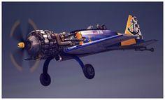 Café air Racer serie Nº1 by David Correa, via Behance
