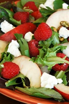 Nectarine Summer Salad - Gonna Want Seconds