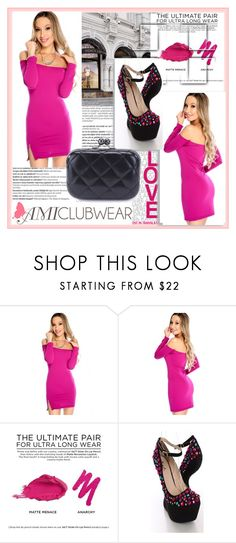 """""""AMICLUBWEAR 30/II"""" by damira-dlxv ❤ liked on Polyvore featuring Balmain, Givenchy, Urban Decay and amiclubwear"""