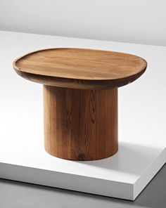 Axel Einar Hjorth, modernist coffee table from the Utö series, 1932. Material stained pine wood. Manufactured and retailed by Nordiska Kompaniet, Sweden. / Phillips