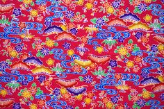 Japanese Cotton, Japanese Kimono, Kimono Fabric, Cotton Fabric, Okinawa, Printed Cotton, Print Patterns, Quilts, Traditional