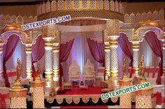 #Indian #Wedding #Royal #Fiber #Mandap #Set  #Dstexports