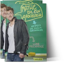 Buy Mathe ist ein Arschloch: Wie (m)ich die Schule fertigmachte by Luke Mockridge and Read this Book on Kobo's Free Apps. Discover Kobo's Vast Collection of Ebooks and Audiobooks Today - Over 4 Million Titles! Book Club Books, New Books, Comedy, Book Logo, Lucky Man, Jokes Quotes, Audiobooks, This Book, Bomber Jacket