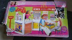Barbie McDonald's Restaurant Playset - Boxed - DERBY  | eBay Mcdonald's Restaurant, Mcdonalds, Derby, Barbie, Baseball Cards, Barbie Dolls