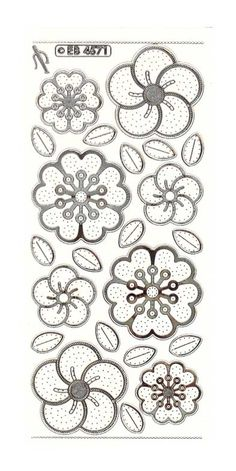 Flower Heads 1 Embroidery Peel Off Native Beading Patterns, Beadwork Designs, Native Beadwork, Native American Beadwork, Indian Beadwork, Beaded Embroidery, Embroidery Patterns, Hand Embroidery, Flower Embroidery