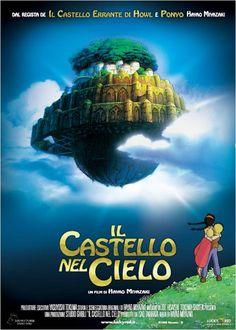 """Le avventure di Sheeta e Pazu alla ricerca di un'isola lontana e dei suoi misteri. """"Il Castello nel cielo"""", da stasera #GrandeCinema3"""
