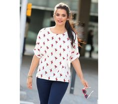 Blúzka s potlačou | modino.sk  #ModinoSK #modino_sk #modino_style #style #fashion #blouse #bellisima
