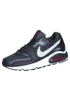 online store 82b60 d7082 Nike Air Max Command - Anthrazit Gris Violet - Femme Sneakers en Ligne Pas  Cher