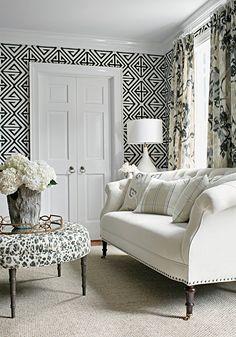 Home-Styling | Ana Antunes: New Wallpaper Collection - Thibaut * A Nova Colecção da Thibaut