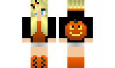 minecraft skin Halloween-Girl Find it with our new Android Minecraft Skins App: https://play.google.com/store/apps/details?id=the.gecko.girlskins