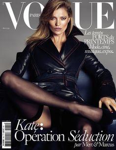 Vogue Paris acaba de hacer pública su triple portada para el mes de marzo, un número que está dedicado a la seducción. ¿Y qué mejor escena seductora que