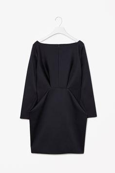 MINIMAL + CLASSIC: Folded waist dress- this is elegant