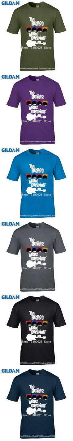 GILDAN 2017 fashion band rock and roll T Shirt cotton the beatles t-shirt man top tee casual man short sleeve clothing tee shirt