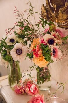 Beautiful flower arrangement!