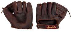1925 Vintage Shoeless Joe Baseball Glove - - Handmade and Broken-In Play Baseball Games, Fsu Baseball, Cleveland Indians Baseball, Youth Baseball Gloves, Baseball Helmet, Baseball Socks, Baseball Players, Baseball Field, Baseball Savings