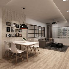 HDB 4-Room $30k @ Buangkok Green - Interior Design Singapore