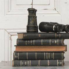 Vintage Binoculars | Elsie Green House & Home | Black & White | Vintage