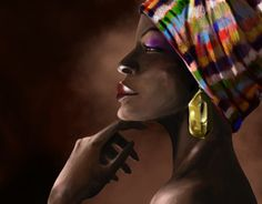 """Check out new work on my @Behance portfolio: """"Afro"""" http://be.net/gallery/31415039/Afro"""