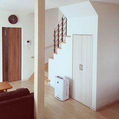Lounge/階段/空気清浄機/階段下収納/柱のインテリア実例 - 2013-11-29 03:35:37
