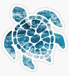 Ocean Sea Turtle Pegatina