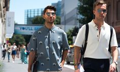 """""""Street style at Milan Fashion Week S/S '16 - GQ.co.uk"""""""