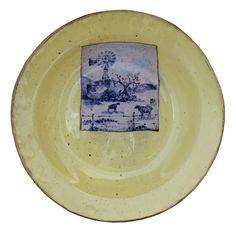 An original ceramic work by Lisa Ringwood entitled: 'Karoo Plate VII', ceramic, d 24cm For more please visit www.finearts.co.za #ceramic #LisaRingwood #Ceramicist #SouthAfricanArt #SouthAfricanArtist #ChineseCeramics #InteriorDesign #Decor #Decoration #Landscape #Fauna #Flora #Birdlife #VOCware #Karoo