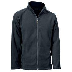Men's Gombu Full Zip Midweight Fleece: Titanium S-2XL