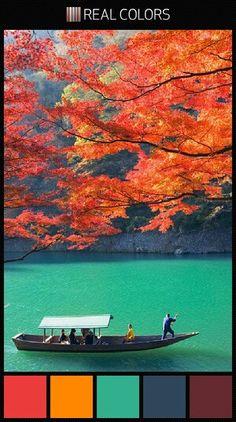 Japanese autumn palette