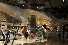 Jean Philippe Patisserie at the Aria Resort Las Vegas. Looks likes I need to make a visit in September.