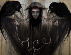 Witch .Marzanna by smokepaint.deviantart.com