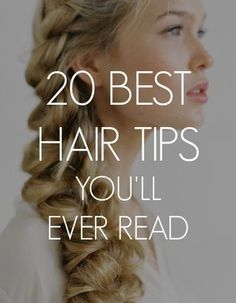 To get your bobby pins to really stay in place, spray them with hairspray first!