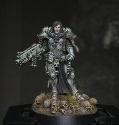 Warhammer Figures, Warhammer Models, Warhammer 40k Miniatures, 40k Sisters Of Battle, Age Of Sigmar, Imperial Knight, Fantasy Figures, Mini Paintings, Warhammer 40000