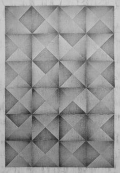 """Saatchi Online Artist Nico Kok; Drawing, """"Squares and triangles 1"""" #art"""